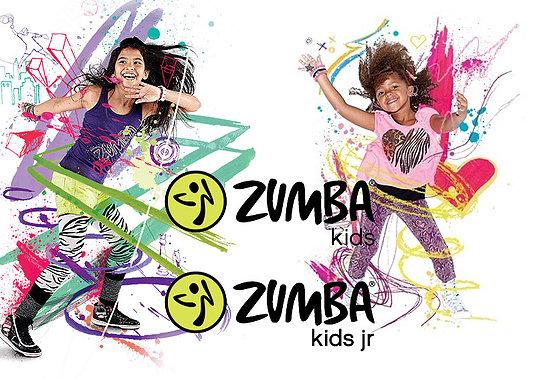 Zumba Kids jr and Kids